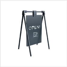 カフェや美容室、店舗の営業案内に 卓上サイン